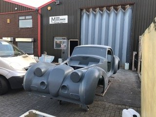 Finished Phantom kit car body