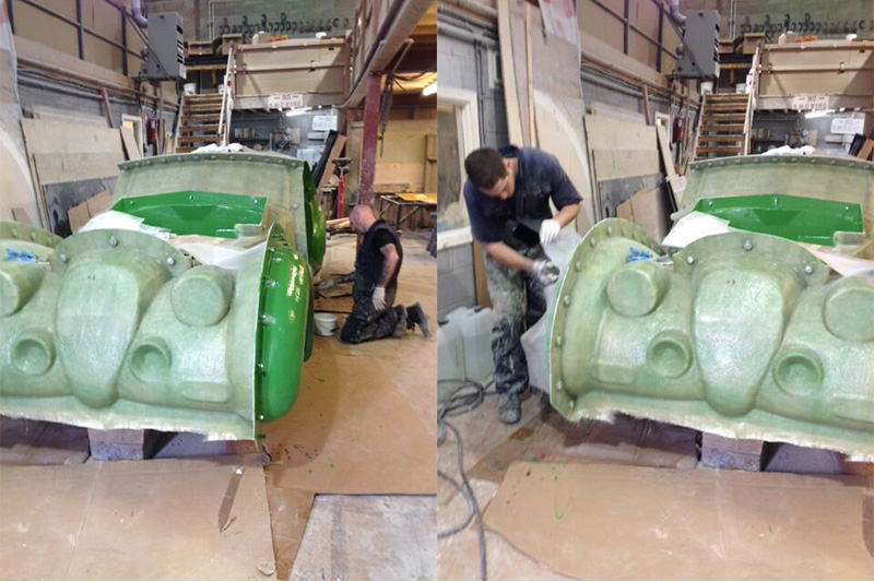 mould making process