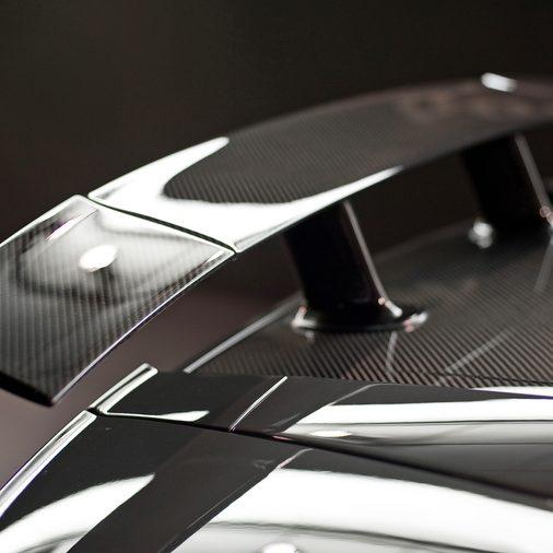 Carbon Fibre car spoiler