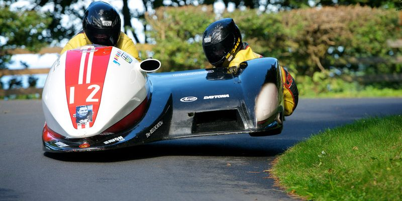 GRP motorbike with a sidecar